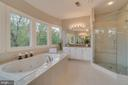 Luxurious master bath - 43559 FIRESTONE PL, LEESBURG