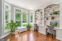 Study with beautiful built ins - 43559 FIRESTONE PL, LEESBURG