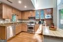 Beautiful Updated Kitchen with 2 Story Skylights - 624-A N TAZEWELL ST, ARLINGTON
