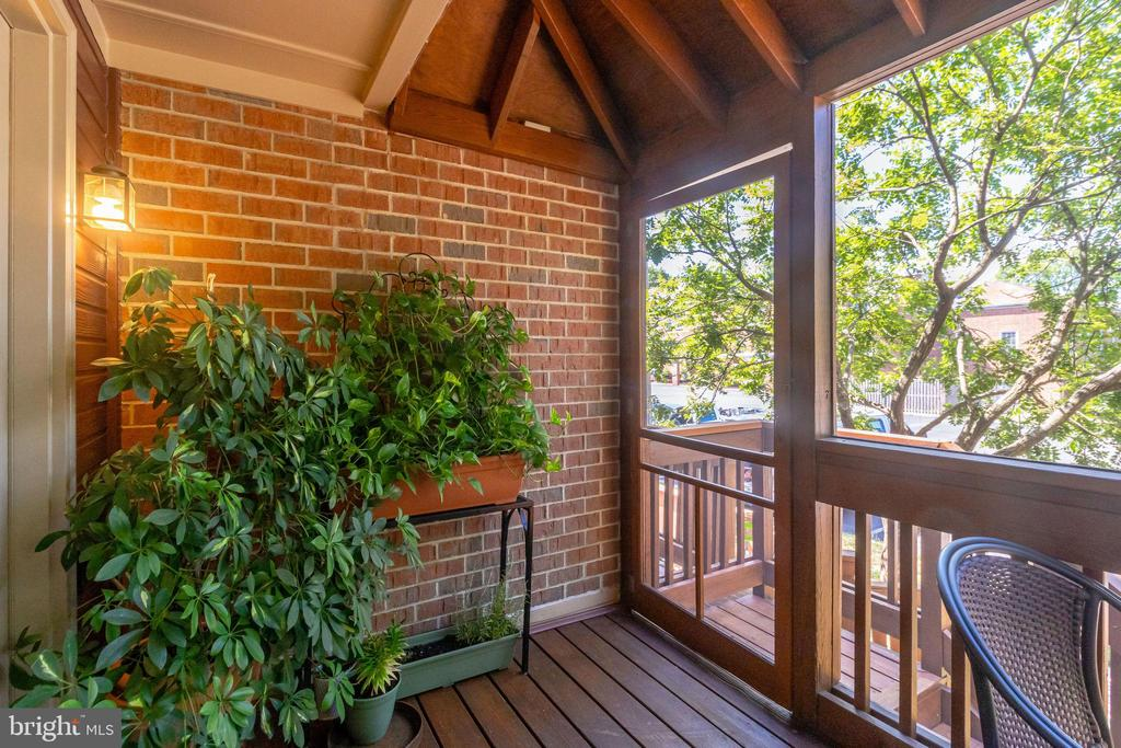 Meticulously Maintained Screened-in Porch - 624-A N TAZEWELL ST, ARLINGTON