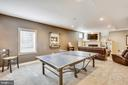 Recreation and media room - 9704 WOODFIELD CT, NEW MARKET