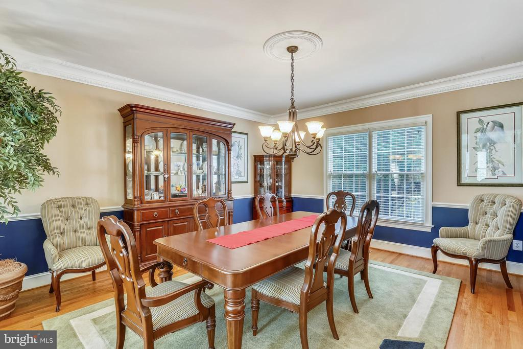 Formal dining room - 9704 WOODFIELD CT, NEW MARKET