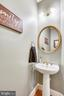 Main level powder room - 9704 WOODFIELD CT, NEW MARKET