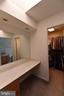 Master Closet /Dressing Area w/ skylight - 720 DONALDSON LN SW, LEESBURG
