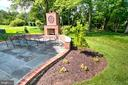 Gorgeous Patio with Woodburning Fireplace! - 1125 CLINCH RD, HERNDON