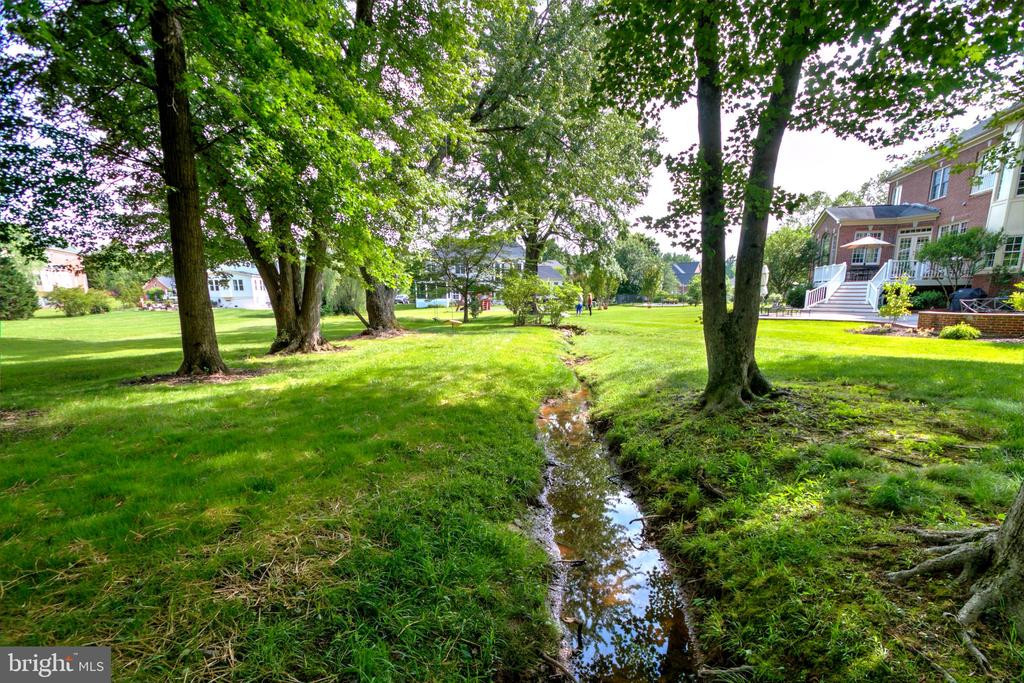 Meandering Stream In The Back - 1125 CLINCH RD, HERNDON