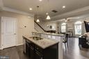 Large kitchen island makes cooking easy - 14132 HARO TRL, GAINESVILLE