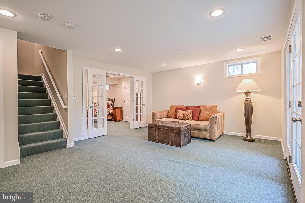 Optional Game Room w/ Walk-up Stairway - 26124 TALAMORE DR, CHANTILLY