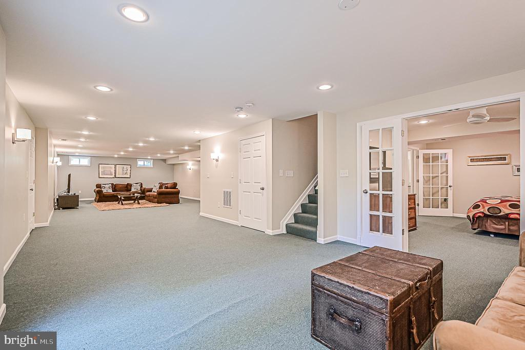 Many Opportunities Await in Large Lower Level - 26124 TALAMORE DR, CHANTILLY
