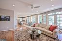 Sunlit Family Room - 26124 TALAMORE DR, CHANTILLY