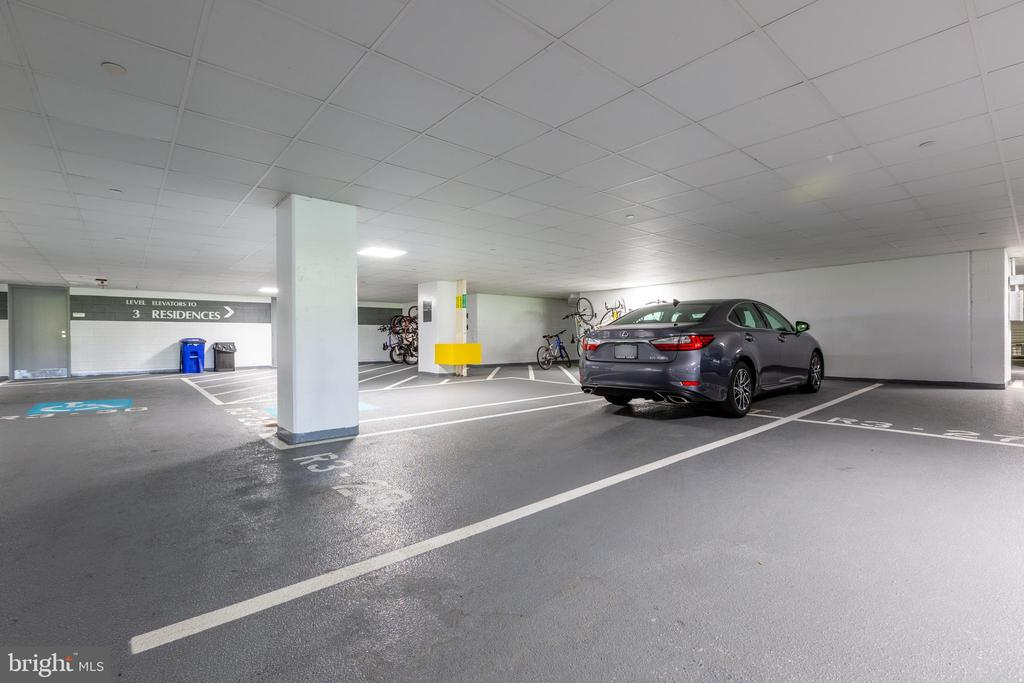Two large parking spaces - 1111 19TH ST N #2606, ARLINGTON