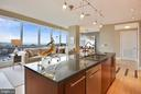 Enjoy the view while cooking in gourmet kitchen - 2001 15TH ST N #1104, ARLINGTON