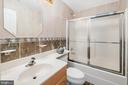Lower Level Bedroom #7 Bathroom - 3714 FAIRWAYS CT, FREDERICKSBURG