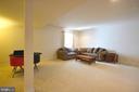 Basement rec room - 43217 BARNSTEAD DR, ASHBURN