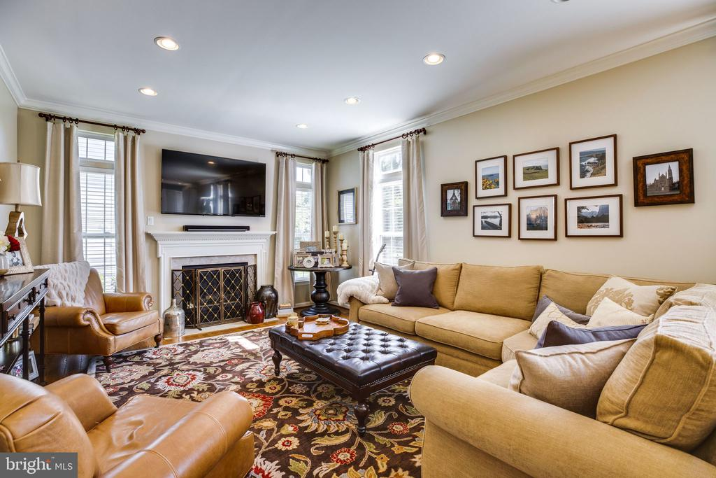 Family room - 26062 SARAZEN DR, CHANTILLY