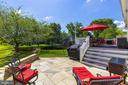 Gorgeous flagstone patio - 26062 SARAZEN DR, CHANTILLY