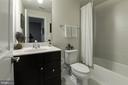 Lower Level Full Bathroom - 1057 MARMION DR, HERNDON