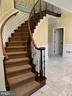 New stair railings - 11400 QUAILWOOD MANOR DR, FAIRFAX STATION