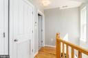 Hallway of Second Level to Bedrooms - 600 KENTUCKY AVE SE #B, WASHINGTON