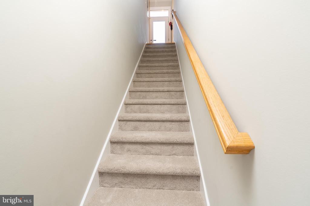 Stairs up to Main Living Area - 600 KENTUCKY AVE SE #B, WASHINGTON