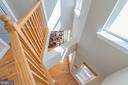 View Down to Main Living Area - 600 KENTUCKY AVE SE #B, WASHINGTON