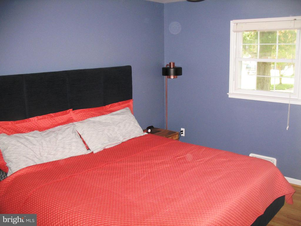 Master bedroom with lots of natural light - 2500 CHILDS LN, ALEXANDRIA