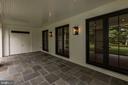 Terrace off Kitchen/Family Room - 3010 UNIVERSITY TER NW, WASHINGTON