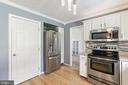 Built in stainless microwave - 6059 DOUGLAS AVE, NEW MARKET