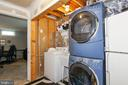 Stack front load washer/dryer convey - 6059 DOUGLAS AVE, NEW MARKET