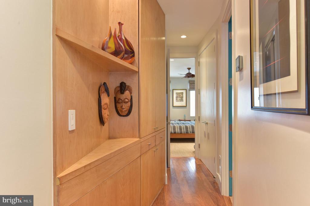 Foyer leading back to Owner's Suite - 1744 WILLARD ST NW, WASHINGTON