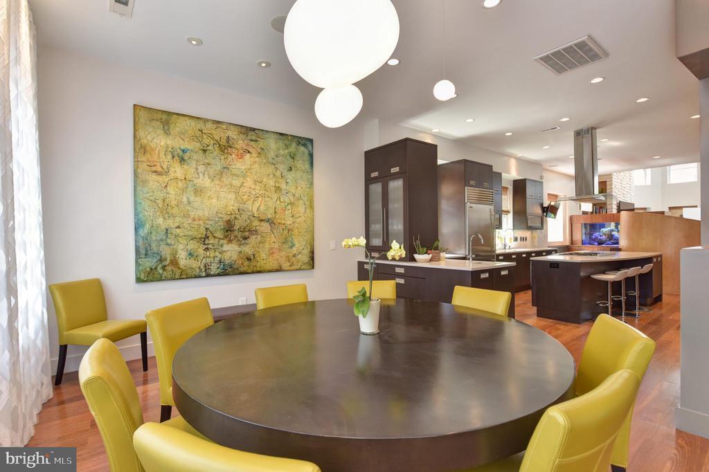 Dining Room showcasing Additional Storage - 1744 WILLARD ST NW, WASHINGTON