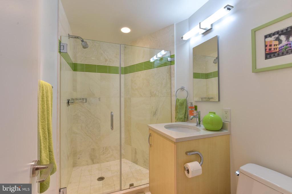 Lower Level Full Bathroom - 1744 WILLARD ST NW, WASHINGTON