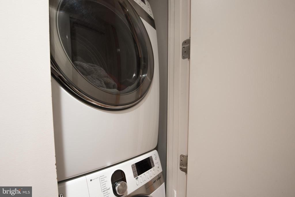 Main Level Laundry adjacent to Owner's Bedroom - 1744 WILLARD ST NW, WASHINGTON