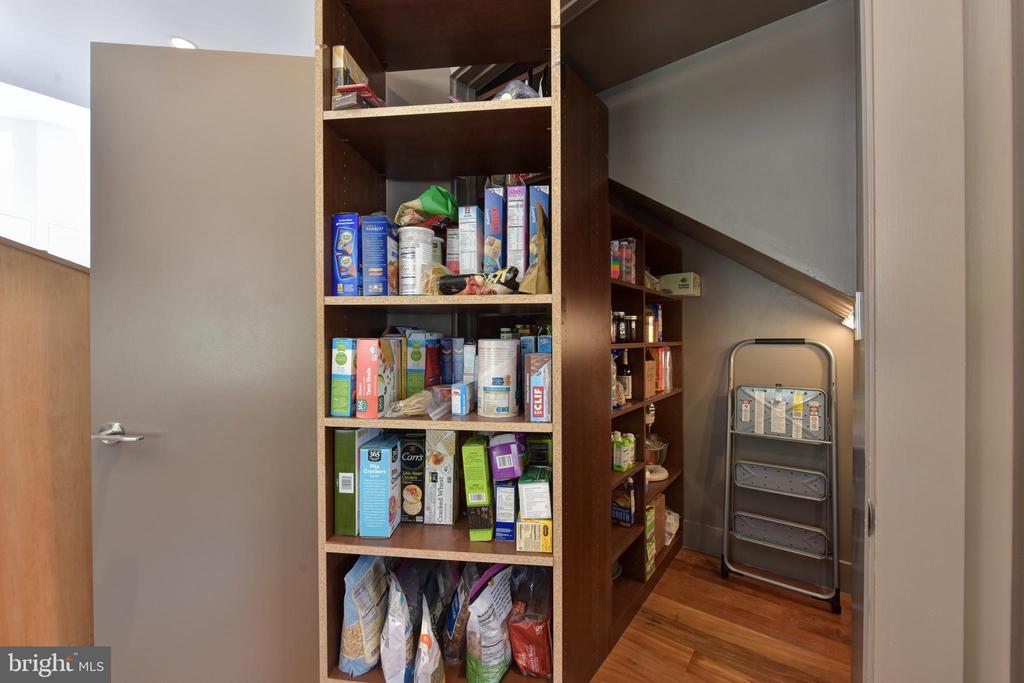 Custom Made Pull-Out Kitchen Pantry - 1744 WILLARD ST NW, WASHINGTON
