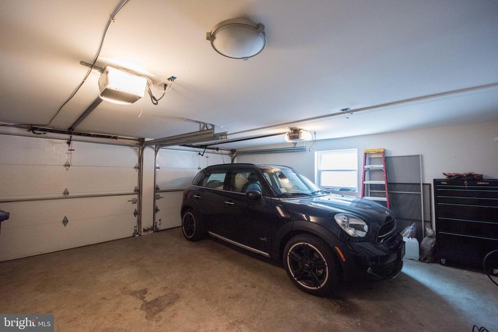 Double Car Interior Garage - 1744 WILLARD ST NW, WASHINGTON