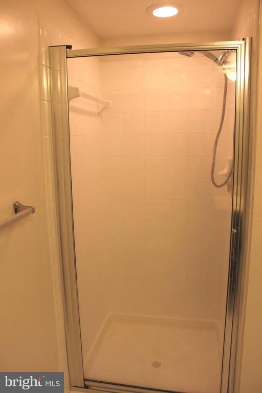 hallway bathroom shower - 7915 EASTERN AVE #509, SILVER SPRING