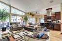Living Room - 4512 DOLPHIN LN, ALEXANDRIA