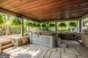 Hot Tub outside Family Room - 4512 DOLPHIN LN, ALEXANDRIA