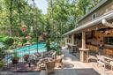 Pool, Fire Pit & Outdoor Kitchen - 4512 DOLPHIN LN, ALEXANDRIA