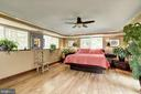 Master Bedroom - 4512 DOLPHIN LN, ALEXANDRIA