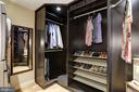 Master Bedroom Closet - 4512 DOLPHIN LN, ALEXANDRIA