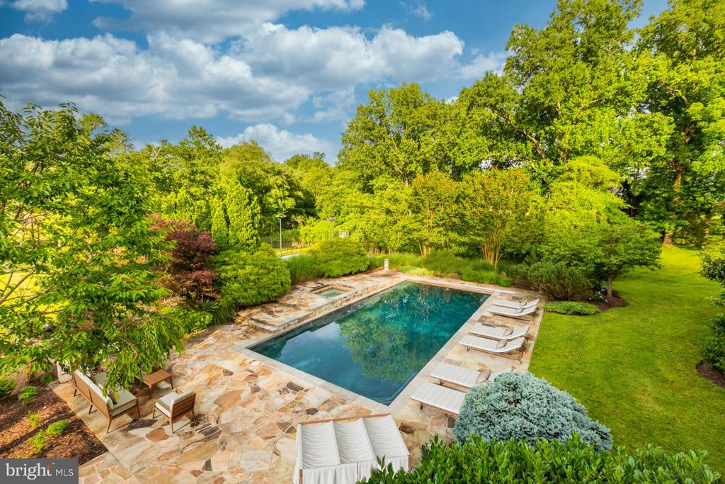 Surrounded by Lush Landscape - 8313 PERSIMMON TREE RD, BETHESDA