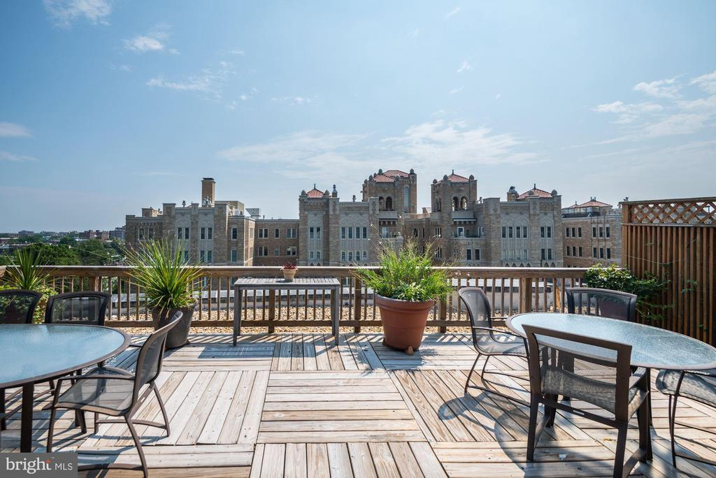 Rooftop Deck - 2126 CONNECTICUT AVE NW #27, WASHINGTON