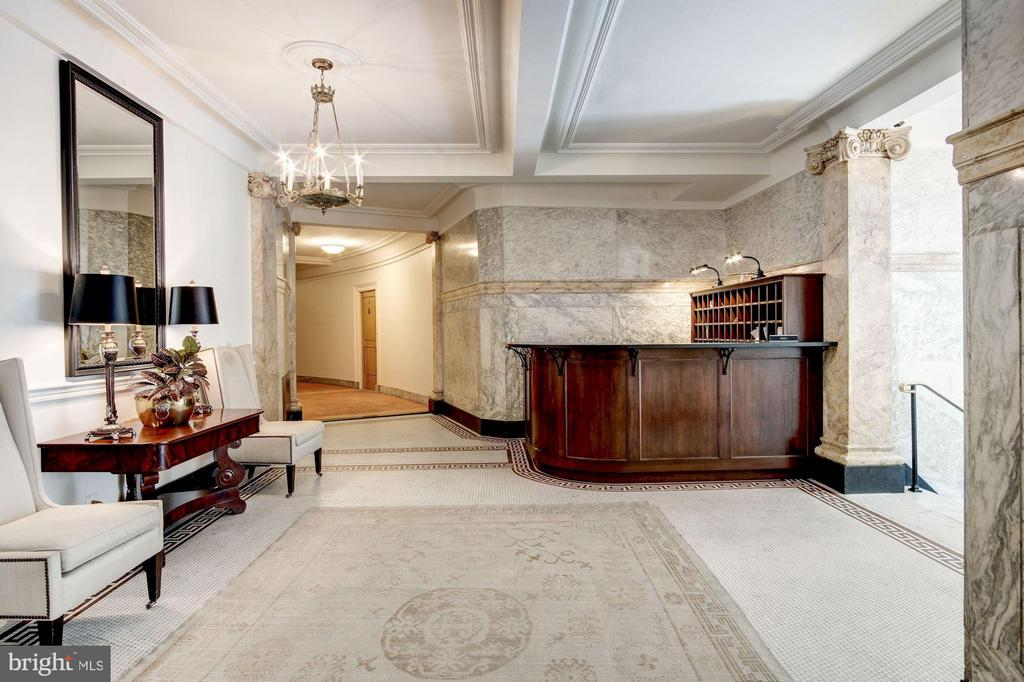 24/7 Front Desk and Lobby - 2126 CONNECTICUT AVE NW #27, WASHINGTON