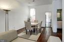 Main Level -  Dining Room - 1928 15TH ST NW, WASHINGTON