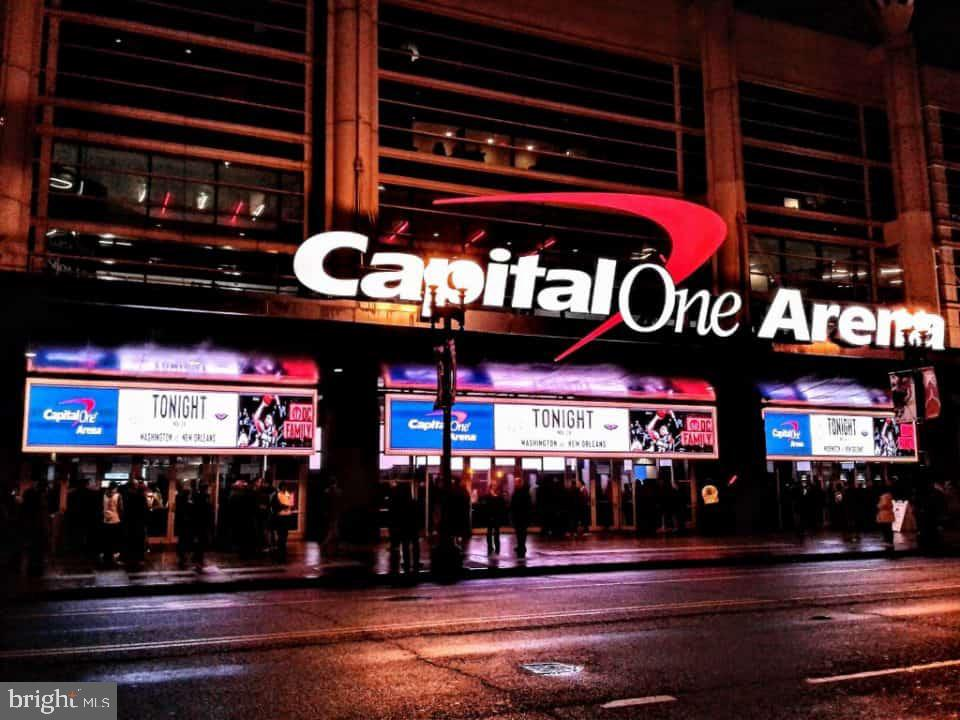 Capital One Arena - 400 MASSACHUSETTS AVE NW #604, WASHINGTON