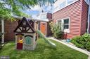 Rear of house has hardiplank siding - 520 ONEIDA PL NW, WASHINGTON