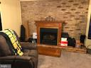 Remote controlled 2nd fireplace in basement - 9894 PAR DR, NOKESVILLE