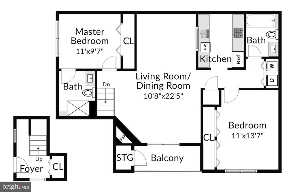 Floor Plan - 13619 ORCHARD DR, CLIFTON