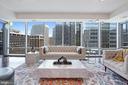 Sunlit Living Room - 1881 N NASH ST #703, ARLINGTON